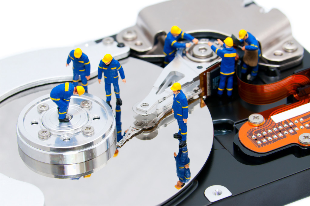 Drive data recovery service